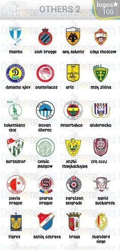 Level 10 – Logo Quiz Football Clubs Others 2 Answers