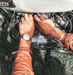 It's about the experience you have! take your Julien de Bourg mechanical watch and something to get around with - preferably a motorbike! Automatic Watches For Men, Mechanical Watch, Stuff To Buy, Accessories, Mechanical Clock