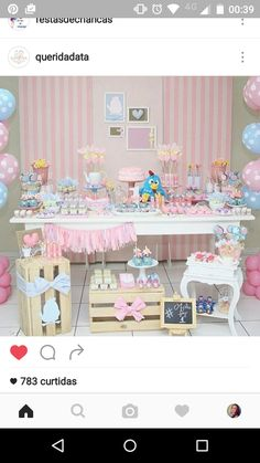 Cotton Candy Cart from a Classic Nursery Rhyme Birthday Party on ...