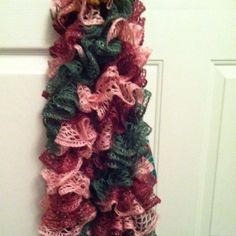 Knitted scarves by Sandy!