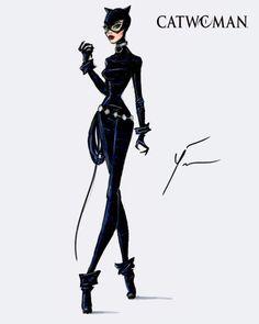 'Catwoman' by Yigit Ozcakmak
