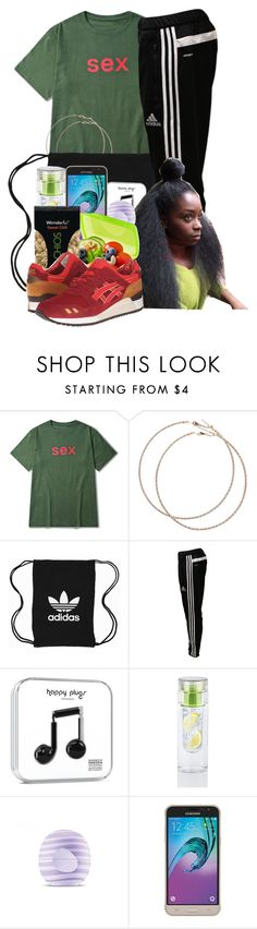 """""""God Will Working To Your Success"""" by denise-loveable-bray ❤ liked on Polyvore featuring Wet Seal, adidas Originals, adidas, Eos, Samsung and Onitsuka Tiger"""