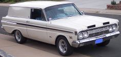 1964 Mercury Comet Sedan Delivery ? Did they actually build these ?