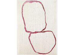 Jürgen Partenheimer ohne Titel  2002 Aquarell, Bleistift auf Papier 26 x 19 cm Privatsammlung