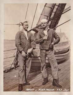Vintage sailors - posing with attitude!