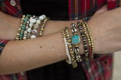 Stacked!  Rope the Moon Jewelry #bracelets