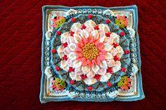 Transcendent Crochet a Solid Granny Square Ideas. Inconceivable Crochet a Solid Granny Square Ideas. Crochet Squares Afghan, Crochet Square Patterns, Crochet Blocks, Crochet Motif, Crochet Designs, Crochet Doilies, Crochet Yarn, Crochet Stitches, Granny Squares