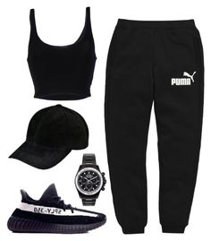 """Untitled #429"" by rubyheartsd on Polyvore featuring Puma, Roque, adidas and Mad Collections"