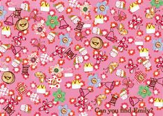 Can you find Emily Button in here? 7th Birthday, Little Ones, Sprinkles, Buttons, Entertaining, Activities, Sewing, Create, Fun