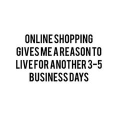 Funny quotes. Online shopping