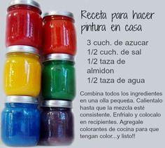 Home Made Finger Paints diy craft crafts diy crafts fun crafts kids crafts kids diy crafts for kids activities for kids Diy Tumblr, Diy Crafts For Kids, Gifts For Kids, Daycare Crafts, Baby Crafts, Kids Diy, Felt Crafts, Finger Painting, Salt Dough