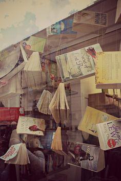 floating books