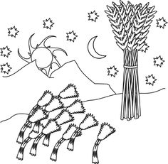 Josephs Dreams Coloring Page Coloring Pages Pinterest Sunday