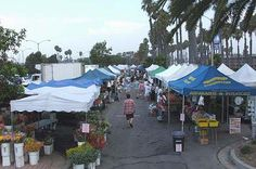 We love the Sunday morning Long Beach Southeast Farmers' Market near the Alamitos Bay Marina in Long Beach.  Organic produce, bread, flowers, plants, entertainment and great tamales.