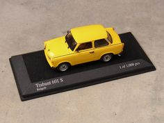 Trabant 601 S 1:43 scale model.