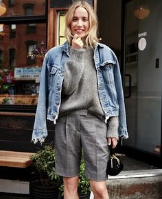 Photos via: J.Crew Instagram | J.Crew How great is this look on Daphne Javitch? Perfect...