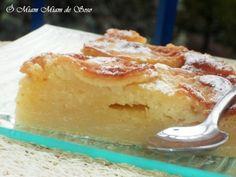 Que suis-je... Ni flan, ni far sans être clafoutis, ni tarte aux pommes LA POMMÉE by Eliane Parfums de Campagnes INGREDIENTS 500 g de pommes (2 à 3 pommes) 250 g de farine 200 g de sucre 100 g de beurre demi-sel ramolli 1 pincée de sel 60 cl de lait 2...