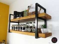 Things That You Need To Know When It Comes To Industrial Decorating You can use home interior design in your home. Even with the smallest amount of experience, you can beautify your home. Industrial Design Furniture, Industrial House, Metal Furniture, Furniture Decor, Furniture Design, Dixon Homes, Kitchen Wall Storage, Diy Rack, Home Interior Design
