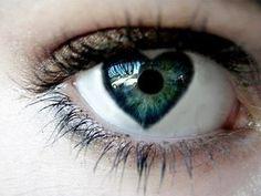 Olhos de coração