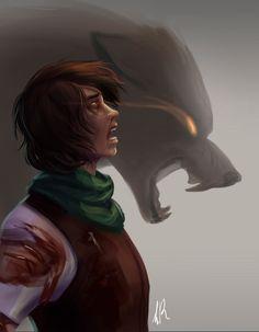 Werewolf by CielaRose.deviantart.com on @DeviantArt