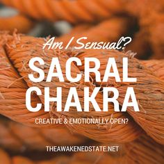 >>> Uncovering the Chakras: The Sacral 2nd Chakra, Sacral Chakra, Chakra Healing, Chakras, Zen Meditation, Chakra Meditation, Spiritual Power, Spiritual Awakening, Usui Reiki
