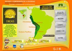 Grandes civilizaciones prehispánicas. Recorrer el camino inca desde el aula con recursos TIC.