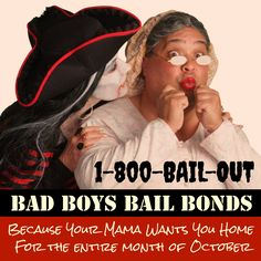 Sometimes the month of October turns out to be more trick than treat. #BecauseYourMamaWantsYouHome #California #BailBonds