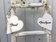 Hochzeitsdeko - Türschild Brautpaar Braut