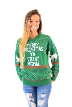 The Best Ugly Christmas Sweaters: http://www.stylemepretty.com/living/2015/12/12/ugly-christmas-sweaters/