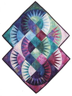 New York Roundabout Quilt - I love the colors & the way the blocks work together
