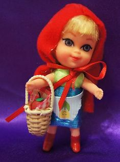 little kiddle doll.