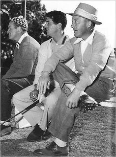 Bob Hope, Dean Martin, Bing Crosby what Legends... Having a laugh together in heavesville now R.I.P guys thanks for the memories