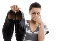 How to Deodorize Shoes Fast. Knowing how to deodorize shoes fast is a must-have requirement for everyone, especially for those who often have to wear regularly shoes. Smelly Shoes, Deodorize Shoes, Arm Pit Stains, Sweat Stains, Foot Odor, Take Off Your Shoes, Bad Breath, Fun To Be One, Happy Socks
