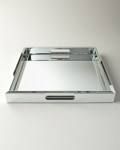 Large Mirrored Tray by Regina-Andrew Design at Neiman Marcus.