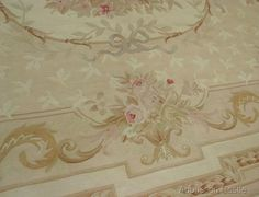 8 X 10 Hand Woven Aubusson Rug ~ Antique French Pastel Love French, French Country, Aubusson Rugs, Classic Chic, French Furniture, Shabby Chic Homes, Floor Rugs, French Antiques, Rugs On Carpet