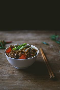 Not your typical fried rice, this Thai-style version is flavored with chile peppers and fish sauce, then perfumed with fragrant Thai basil.