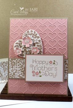 Bloomin' Love Mother's Day card by Card-iology by Jari