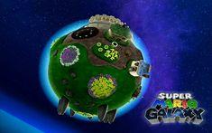 Free Super Mario Galaxy Wallpaper