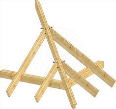 Konstrukcja dachu – Buduj z drewna – portal pasjonatów budownictwa drewnianego