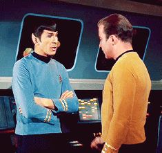 Kirk, Spock, and some very necessary touches