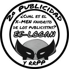 Logo presentado para las camisetas de 2º Publicidad y RRPP de la Universidad de Murcia.