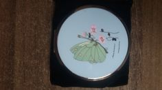 Stratton compact in butterfly design by suffolkoddsandends on Etsy
