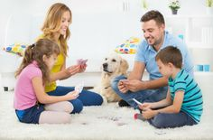 No need to go out to get some quality time in. Have a fun and inexpensive family night by playing one of these kid-friendly card games. Family Card Games, Card Games For Kids, Kids Party Games, Fun Games, Dice Games, Indoor Games For Kids, Summer Activities For Kids, Fun Activities, Indoor Play