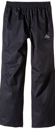 adidas Golf Kids Provisional Rain Pants (Big Kids) (Black) Boy's Casual Pants - adidas Golf Kids, Provisional Rain Pants (Big Kids), BC2296-001, Apparel Bottom Casual Pants, Casual Pants, Bottom, Apparel, Clothes Clothing, Gift, - Street Fashion And Style Ideas