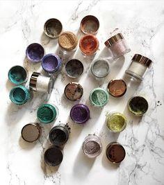 Makeup geek pigments $10 Makeup Geek Pigment, Makeup Geek Cosmetics, Eye Makeup, Under Eye Concealer, Loose Glitter, Beauty Review, Makeup Goals, Sparklers, Face Art