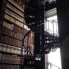 The Book of Kells - Dublin, Ireland. The long room