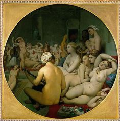 Jean Auguste Dominique Ingres The Turkish Bath art for sale at Toperfect gallery. Buy the Jean Auguste Dominique Ingres The Turkish Bath oil painting in Factory Price. All Paintings are Satisfaction Guaranteed Art Magique, Bath Paint, Louvre Paris, Art Terms, Turkish Bath, Auguste, Dominique, Classical Art, Italian Art