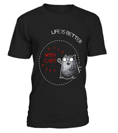 "# Funny Optimistic Life Is Better With Cats Kitty Lovers Shirt .  Special Offer, not available in shops      Comes in a variety of styles and colours      Buy yours now before it is too late!      Secured payment via Visa / Mastercard / Amex / PayPal      How to place an order            Choose the model from the drop-down menu      Click on ""Buy it now""      Choose the size and the quantity      Add your delivery address and bank details      And that's it!      Tags: Cute Life Is Better…"