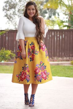 Our Cecilia Skirt is available! S-L