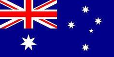 Australian Flag 3.5 inch Sticker Vinyl Decal Stickers